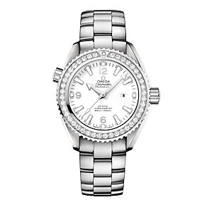 Omega Seamaster ladies' stainless steel & diamond watch - Product number 8948356