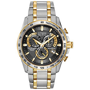 Citizen Eco-Drive two colour bracelet watch - Product number 8948496