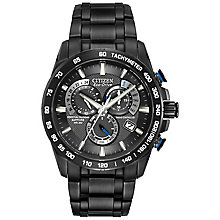 Citizen Eco-Drive black ion plated bracelet watch - Product number 8948526