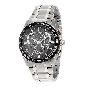 Citizen Eco-Drive men's titanium bracelet watch - Product number 8948542