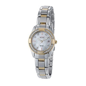 Citizen ladies' two colour diamond bracelet watch - Product number 8948658