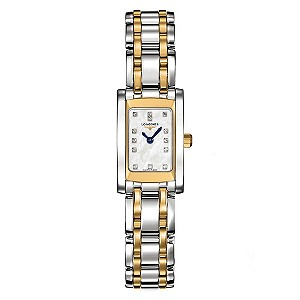 Longines ladies' gold & silver coloured bracelet watch - Product number 8950288