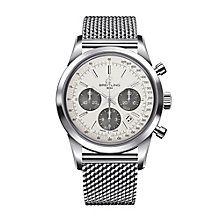 Breitling Transocean men's stainless steel bracelet watch - Product number 8950334