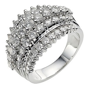 Sattva 18ct White Gold 2.4 Carat Diamond Ring