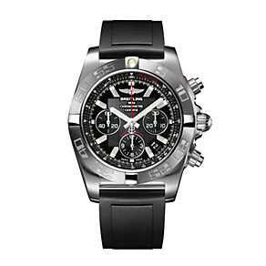 Breitling Chronomat Flying Fish men's black strap watch - Product number 8952299