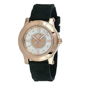Juicy Couture ladies'  black rubber strap watch - Product number 8954623