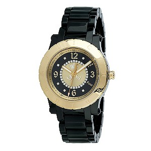 Juicy Couture ladies' black strap watch - Product number 8954690