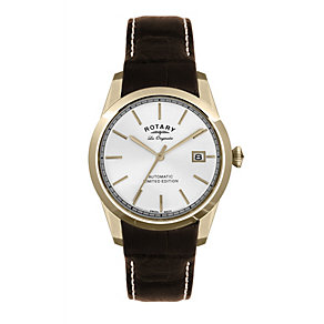 Rotary men's brown strap watch - Product number 8955417