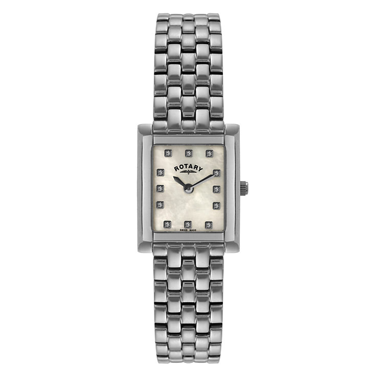 Rotary ladies' stainless steel bracelet watch - Product number 8955530