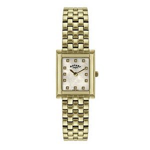 Rotary ladies' gold-plated bracelet watch - Product number 8955557