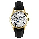 Rotary men's black strap moonphase watch - Product number 8955573