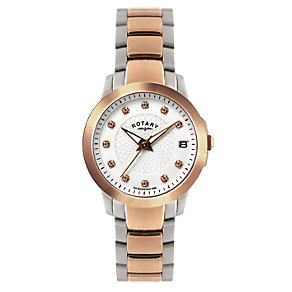 Rotary ladies' two colour bracelet watch - Product number 8955689