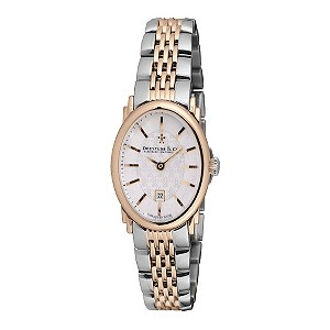 Dreyfuss & Co ladies' two colour oval dial watch - Product number 8955816
