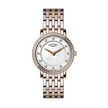 Rotary ladies' stainless steel bracelet watch - Product number 8956529
