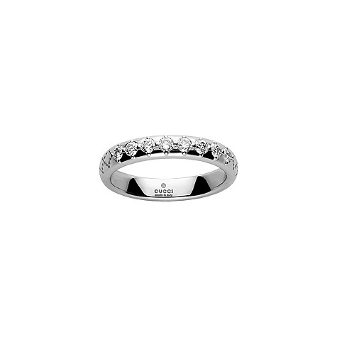 Gucci diamantissa 3mm ring
