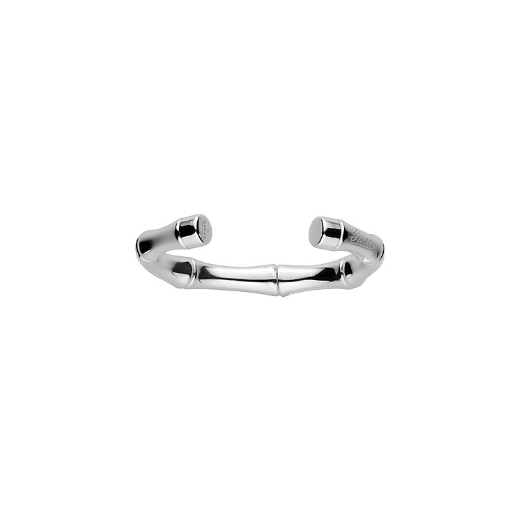 Gucci Bamboo sterling silver bangle 17cm - Product number 8956839