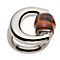 Gucci Bamboo sterling silver horsebit ring - size M - Product number 8957002