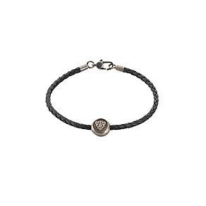 Gucci black cord crescent bracelet - adjustable - Product number 8957223