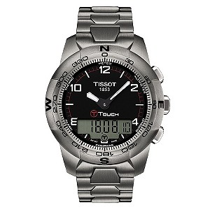 Tissot Touch men's titanium bracelet watch - Product number 8957401