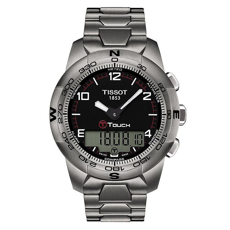 Tissot Touch men's titanium bracelet watch - Product number 8957401