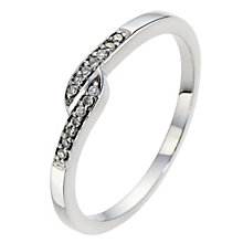 Silver & Diamond Eternity Ring - Product number 8958114