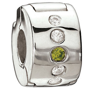 Chamilia sterling silver Verde charm bead - Product number 8972990