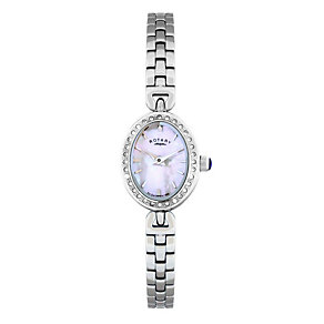 Rotary Ladies' Mother Of Pearl Bracelet Watch - Product number 8979685