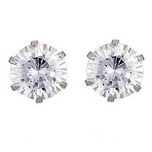 9ct White Gold & Cubic Zirconia Studs - Product number 8988471