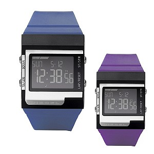 Diesel Young Blood Thermal Attraction Blue Strap Watch
