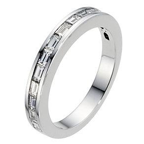 Amanda Wakeley platinum & 0.60 carat baguette diamond ring - Product number 8994390