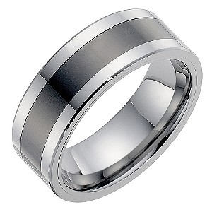Black ceramic tungsten 8mm ring - Product number 8996466