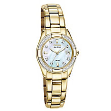 Citizen Ladies' Gold Plated Bracelet Watch - Product number 8997659