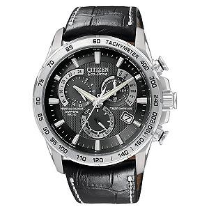 Citizen Eco-Drive Black Strap Watch
