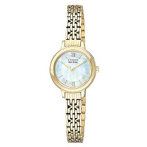 Citizen Ladies' Gold Plated Bracelet Watch - Product number 8997799