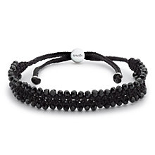 Truth Black Crystal Friendship Bracelet - Product number 8998019