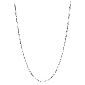 "Silver 18"" Figaro Chain - Product number 9001530"