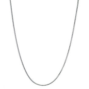 "Silver 16"" Snake Chain - Product number 9001557"