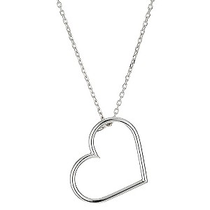 Silver Heart Pendant - Product number 9001573