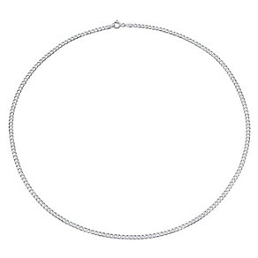 """20"""" Silver Flat Curb Chain - Product number 9001689"""