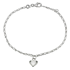 Silver Figaro Bracelet - Product number 9003991
