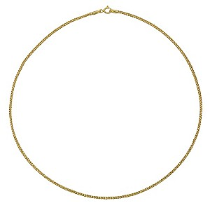 "9ct Yellow Gold 18"" Spiga Necklace - Product number 9006311"