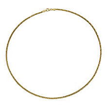 Ladies' 9ct Yellow Gold Large Spiga Chain - Product number 9006338