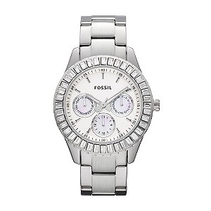 Fossil Ladies' Silver Bracelet Watch - Product number 9006591