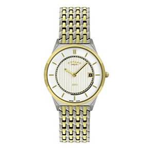 Rotary Men's Two Tone Bracelet Watch - Product number 9007342