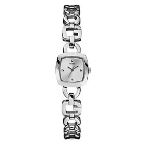 Guess Ladies' Silver Dial Bracelet Watch - Product number 9007717