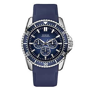 Guess Navy Strap Watch - Product number 9007741
