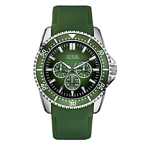 Guess Green Strap Watch - Product number 9007768
