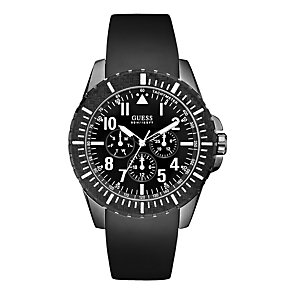 Guess Black Strap Watch - Product number 9007970