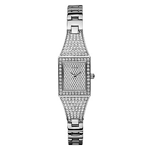 Guess Ladies' Silver Dial Bracelet Watch - Product number 9008241