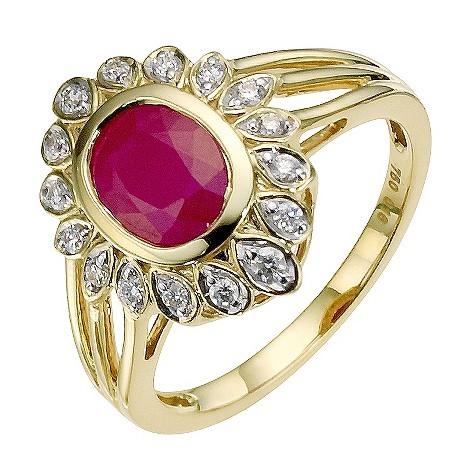 Sattva 18ct Yellow Gold Diamond